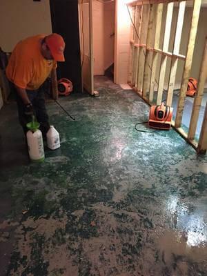 Water Damage Rio Rancho Of Concrete Flooring